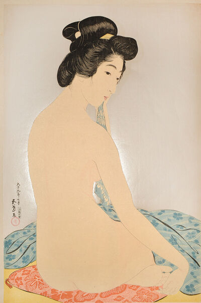 Goyo Hashiguchi, 'Woman after the Bath', 1920