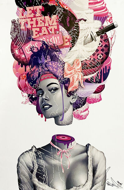 Tristan Eaton, ''The October March' (poster)', 2018