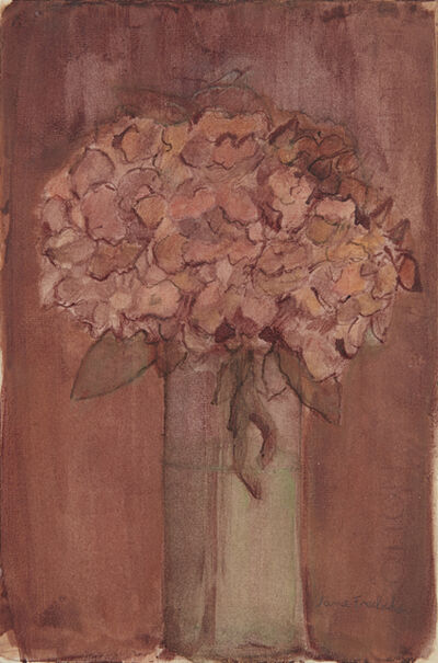Jane Freilicher, 'Still Life with Hydrangeas', ca. 1990