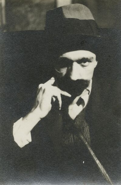 Walker Evans, 'Self-portrait with Mustache', ca. 1929