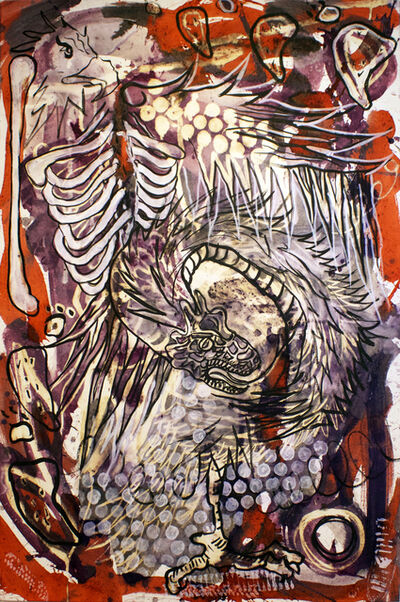 Lucio Santiago, 'Quetzalcóatl, El Origen Inerte 2', 2016