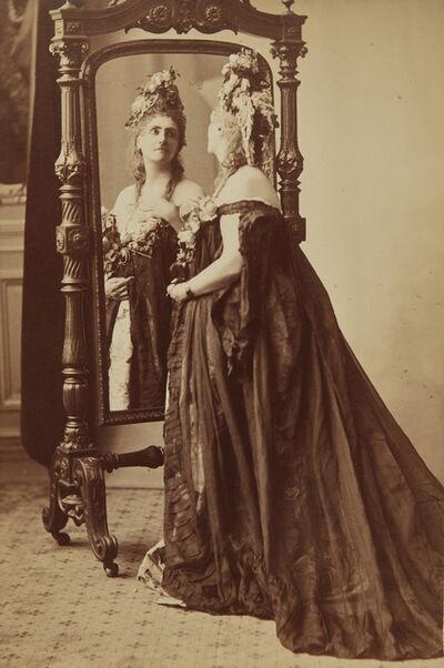 Pierre-Louis Pierson, 'Rose de Compiegne, Portrait of the Countess of Castiglione from Série des Roses', 1895