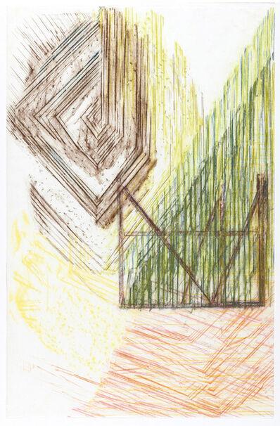 Olaf Holzapfel, 'Blick durch Glas', 2019