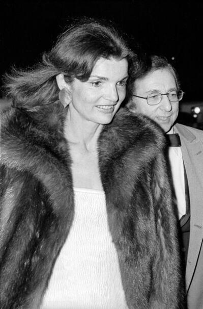 Allan Tannenbaum, 'Jackie Onassis at the Metropolitan Museum Costume Gala', 1976