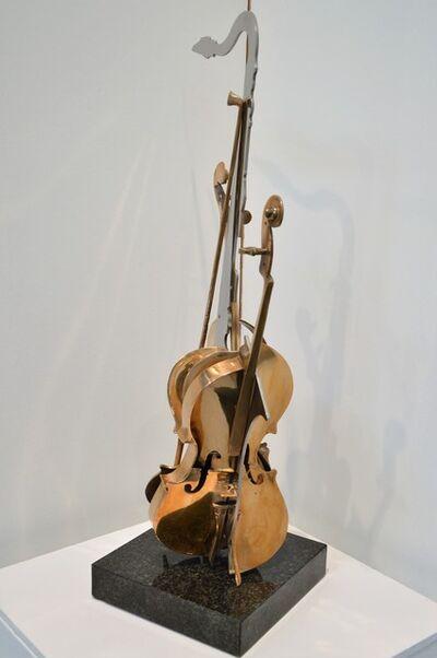 Arman, 'Untitled (violin and sax)', 1998