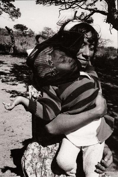 Graciela Iturbide, 'Velo negro para el viento, Juchitán, Oaxaca', 1988