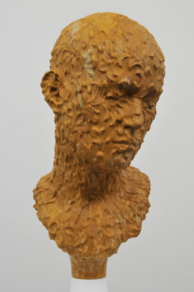 Barry X Ball, 'Single Portrait of Jeanne (Portuguese Gold marble)', 2007