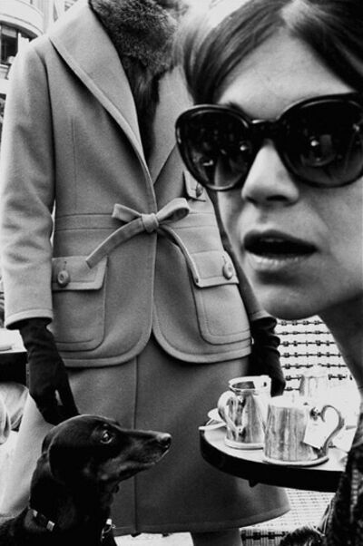 Frank Horvat, 'Paris, HB Collections B (close up with dog)', 1962