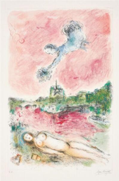 Marc Chagall, 'Vue de Notre-Dame (View of Notre-Dame)', 1980