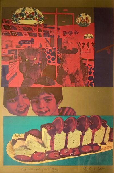 Eduardo Paolozzi, 'Why Children Commit Suicide…Read Next Month's Issue from General Dynamic F.U.N.', 1965-1970