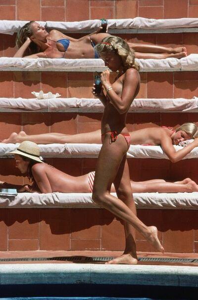 Slim Aarons, 'Catherine Wilke', 1980