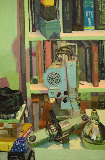 Brian P. Kelley, 'Sleeping Projector (green)', 2020