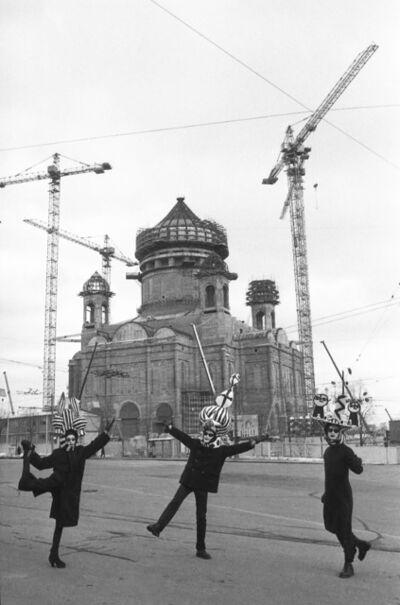 Sergei Borisov, 'Dance in front of construction site', 1996