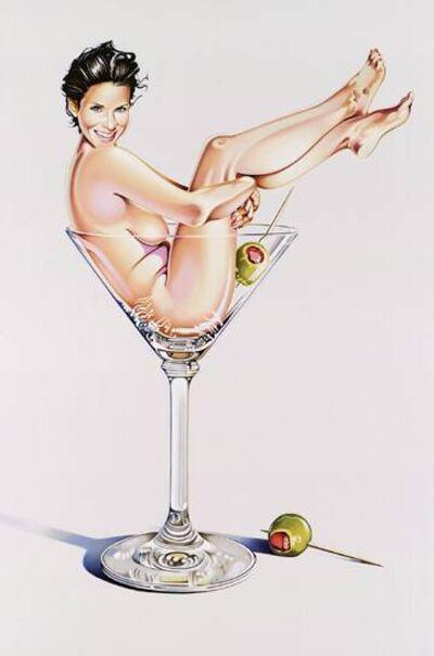 Mel Ramos, 'Martini Miss #2', 2004