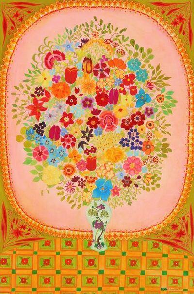 Hepzibah Swinford, 'Pink Flowers', 2012