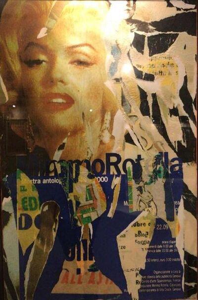 Mimmo Rotella, 'FATALE', 2003