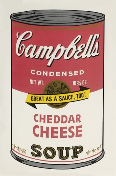 Andy Warhol, 'Campbell's Soup II:  Cheddar Cheese', 1969