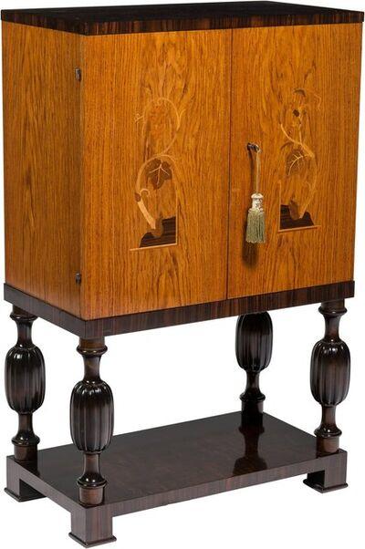 Mjölby Intarsia, 'Grace Cabinet', circa 1935
