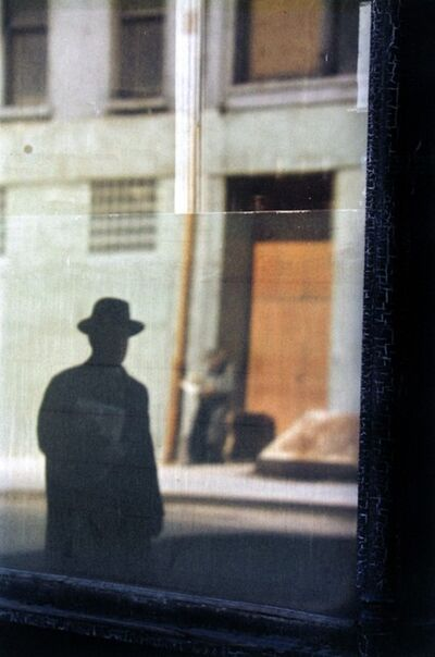Saul Leiter, 'Near the Tanager', 1954