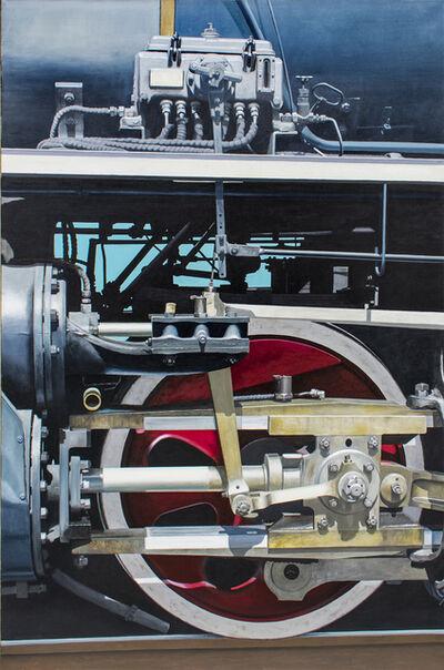 Joseph E. Richards, 'Essex V (Red Wheel)', 2001-2002