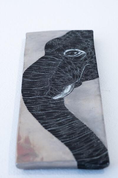 Masako Inoue, 'Plate_Elefant', 2019