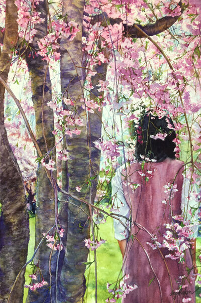 Joy Makon, 'Cloaked in Blossoms', 2018