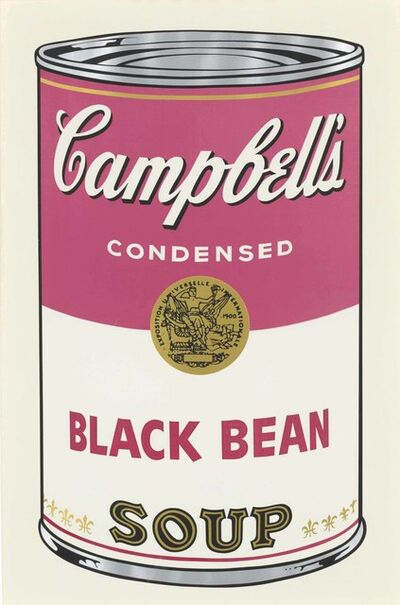 Andy Warhol, 'Black Bean, from: Campbell's Soup I', 1968