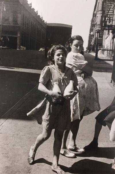 Helen Levitt, 'Untitled (Girls with milk bottles)', 1945