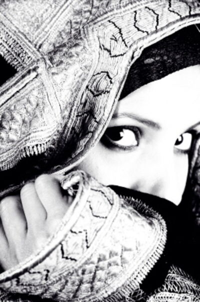 Manal AlDowayan, 'Look Beyond The Veil II', 2005