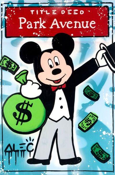 Alec Monopoly, 'Mickey  Title Deed Park Avenue ', 2019