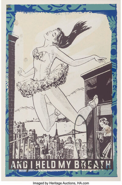 FAILE, 'And I Held my Breath', 2013