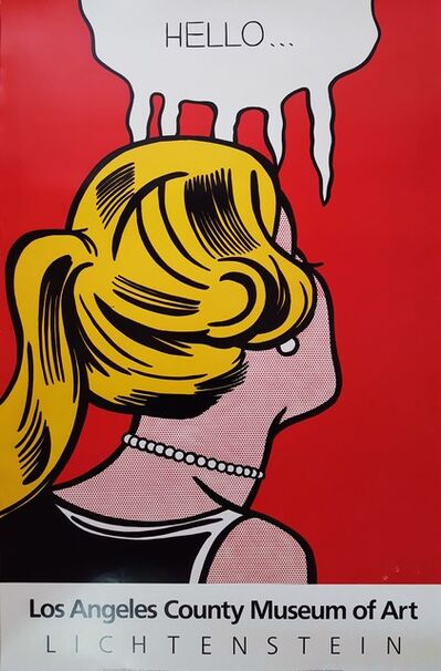 Roy Lichtenstein, 'LACMA', 1987