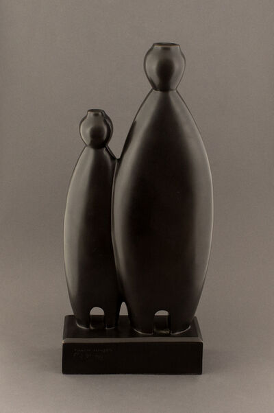 Allan Houser, 'Zuni Water Maidens', 1990