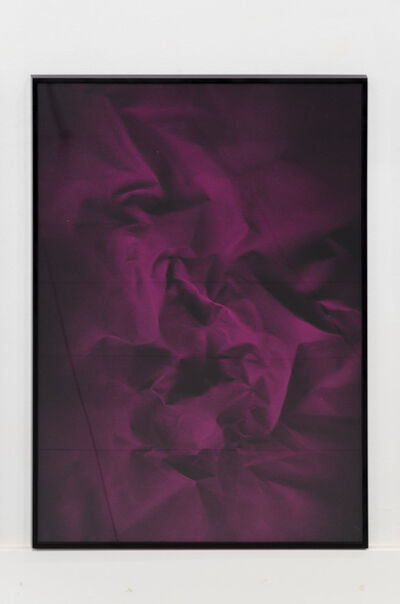 Ismael Iglesias, 'pliegue 01', 2016