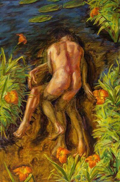 Hugh Auchincloss Steers, 'Tiger Lily Pond', 1991