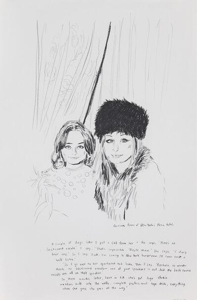 Karen Kilimnik, 'Persian Room at New York's Plaza', 1996