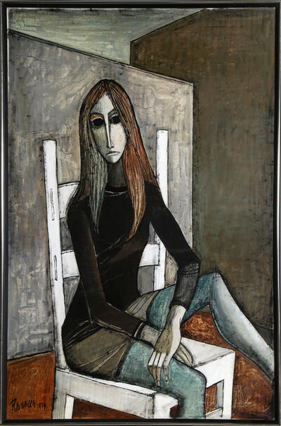 Lucio Ranucci, 'Woman in Chair', 1970