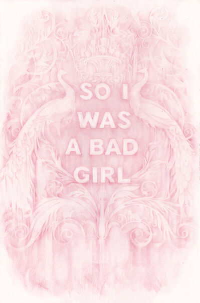 Amanda Manitach, 'So I Was a Bad Girl', 2019