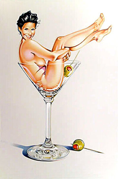 Mel Ramos, 'Martini Miss', 2004