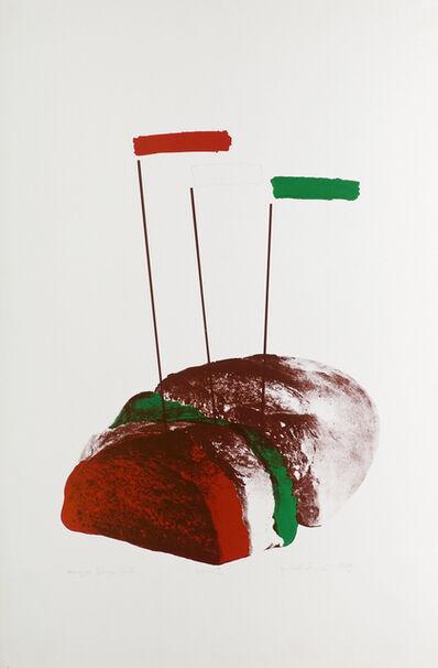 Sándor Pinczehelyi, 'Hungarian bread', 1979