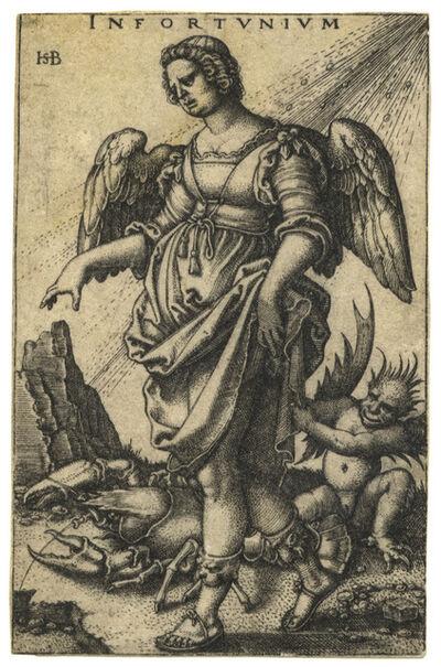 Hans Sebald Beham, 'Infortunium – Misfortune', 1541