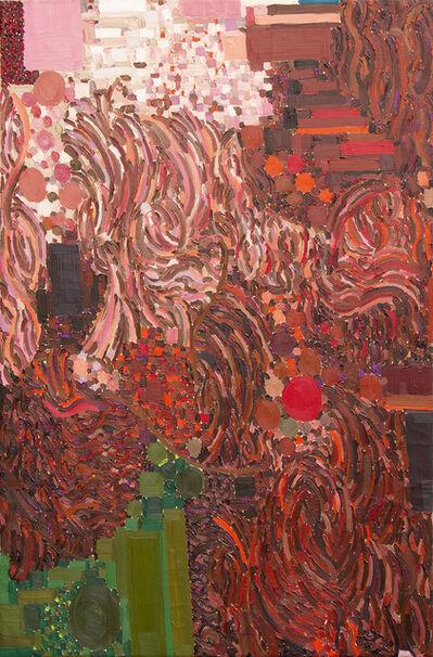 Lynne Drexler, 'Rose to Red', 1968