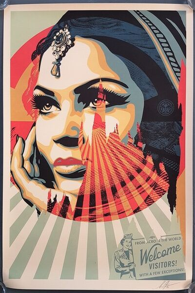 Shepard Fairey, 'Target Exceptions', 2020