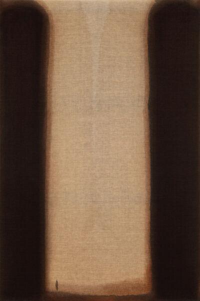 Yun Hyong-keun, 'Burnt Umber & Ultramarine', 1974
