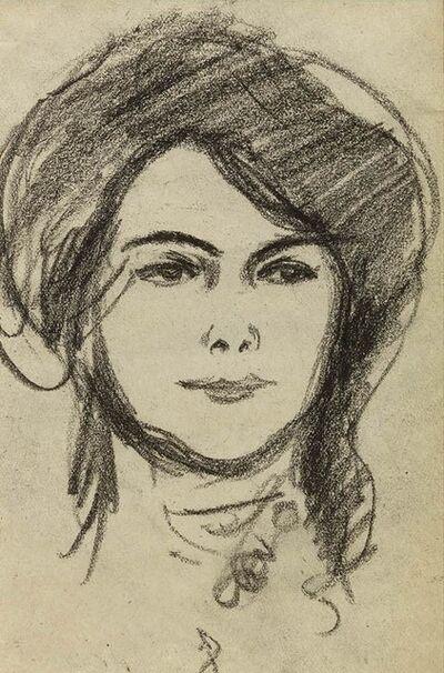 JD Fergusson, 'Anne Estelle Rice, Paris 1907', 1907