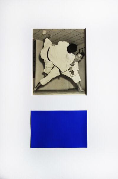 Yves Klein, 'Yves Klein pratiquant une prise de Judo', ca. 1954