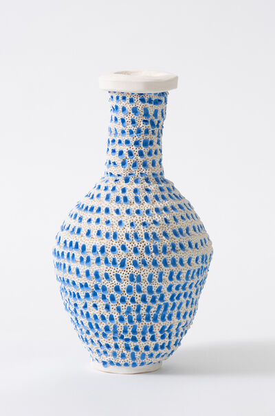 Glenn Barkley, 'blue pox bottle', 2019