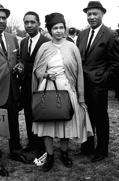 Steve Schapiro, 'Rosa Parks / Selma March', 1965