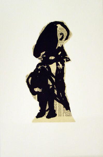 William Kentridge, 'Nose Alone', 2007