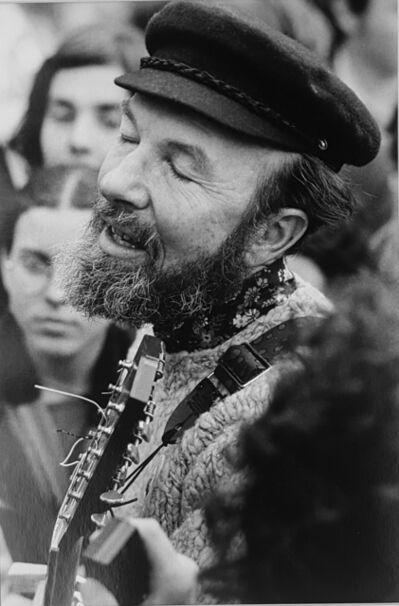 Hervé GLOAGUEN, 'Pop singer, Pete SEEGER, NY 1970', 1970